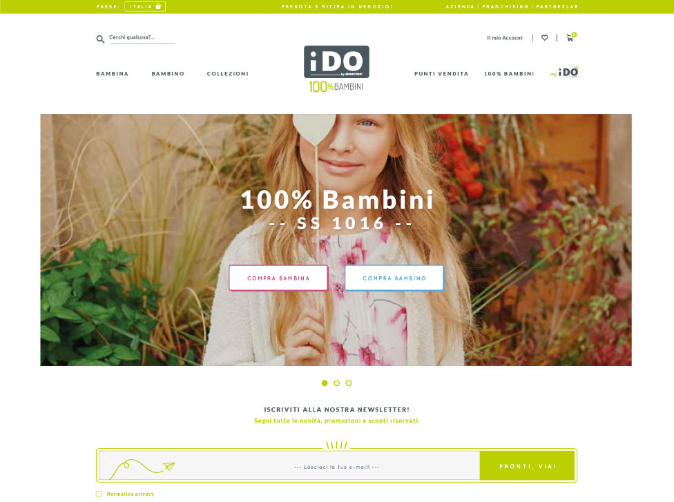 eCommerce Design e Development iDO - Quantico