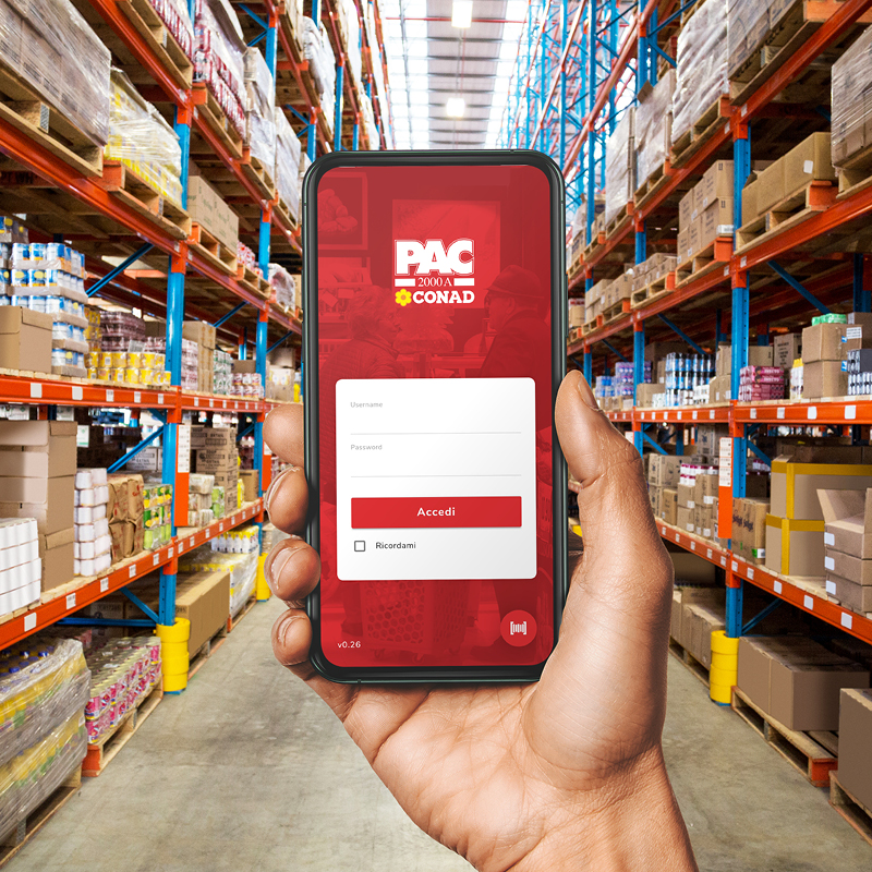 PAC2000A | Mobile App Development, Logistic & Warehouse Management, System Integration